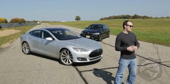 VIDEO: The Clip Heard Around The WORLD - BMW M5 vs. Tesla Model S