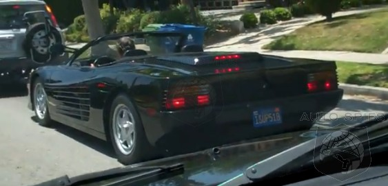 SPIED: A RARE Find, Indeed - A Ferrari Testarossa Spyder Spotted In SoCal
