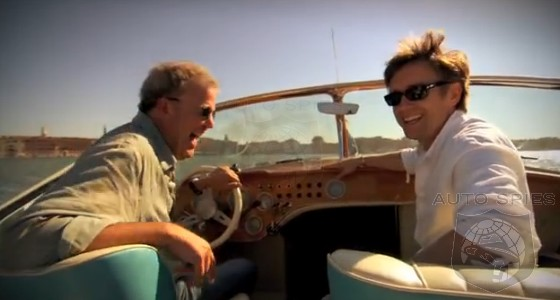 top gear fans jeremy clarkson and richard hammond tease the perfect road trip autospies. Black Bedroom Furniture Sets. Home Design Ideas