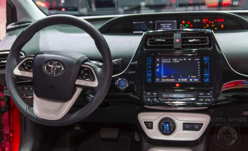 Iaa The Agents Detail All New Toyota Prius Interior Do