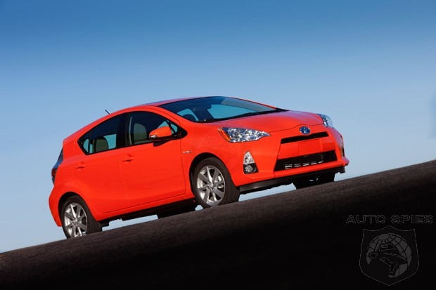 WHY Bother With EVs When You Have The Toyota Prius C? Sales Already Top Volt & Leaf