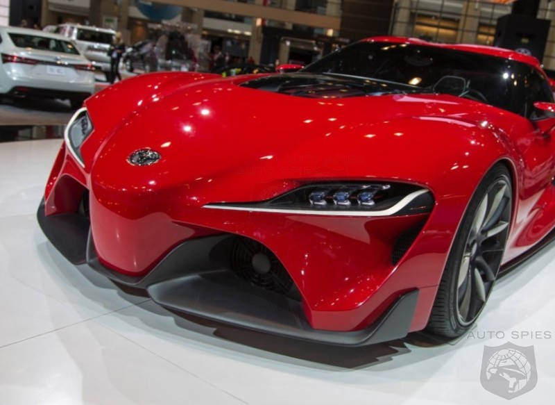 CHICAGO AUTO SHOW: ANOTHER Look At The Toyota FT1 — Could This Be The HOTTEST Concept Of 2014?
