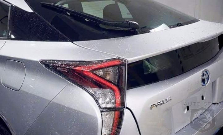 LEAKED WHOOMP There It Is THIS Is Your FIRST Look At The All New Toyota Prius