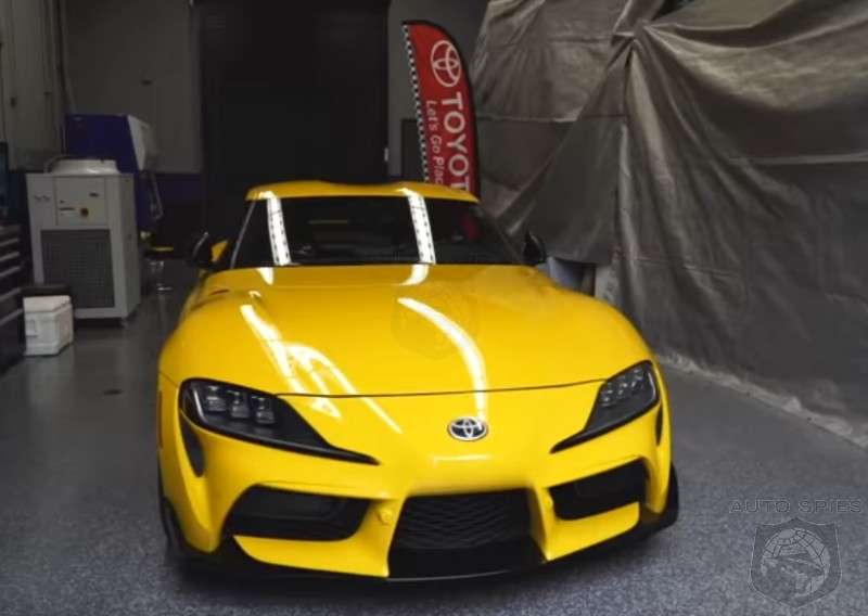 Video Behind The Scenes Look At The Toyota Supras Bound For Sema