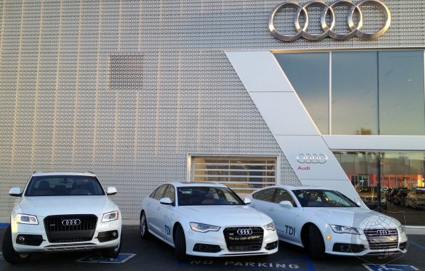 Audi Puts Its Money Where Its Mouth Is — FOUR Tanks Of Diesel In 48 Hours, Coast-To-Coast