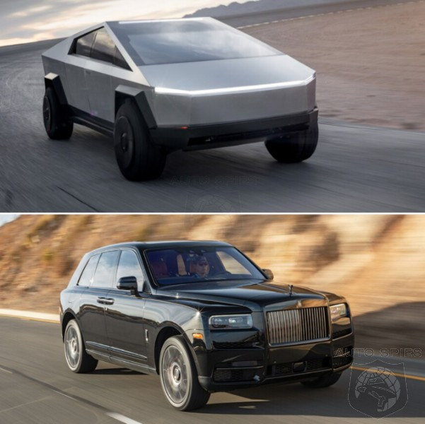 SUV WARS! Which Exterior Design Is WORSE? The Tesla Cybertruck Or The Rolls-Royce Cullinan?
