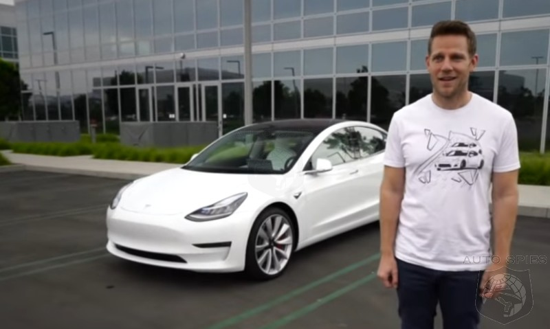 DRIVEN + VIDEO: So, How Does The Tesla Model 3 Performance Do When A Traditional Outlet Reviews It?
