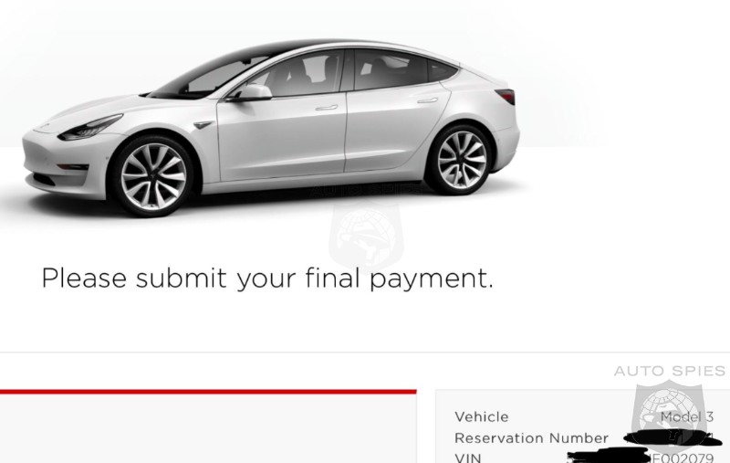 Has Tesla's RAMP UP Begun? Owner Claims Delivery Scheduled For MONDAY!