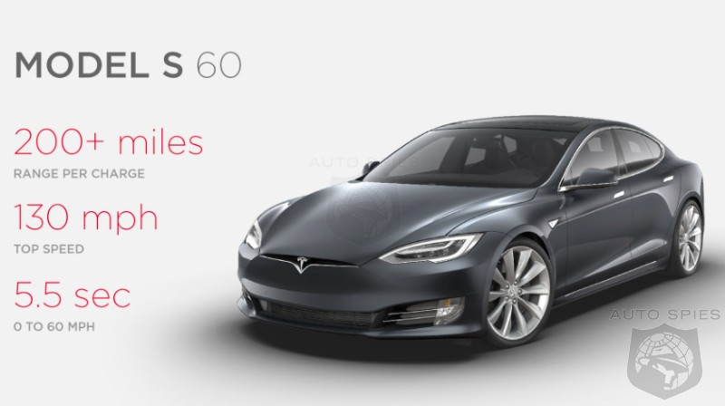 RIP: Tesla Model S 60 And 60D Get Axed, No Longer The Entry-Level Model S Nameplate