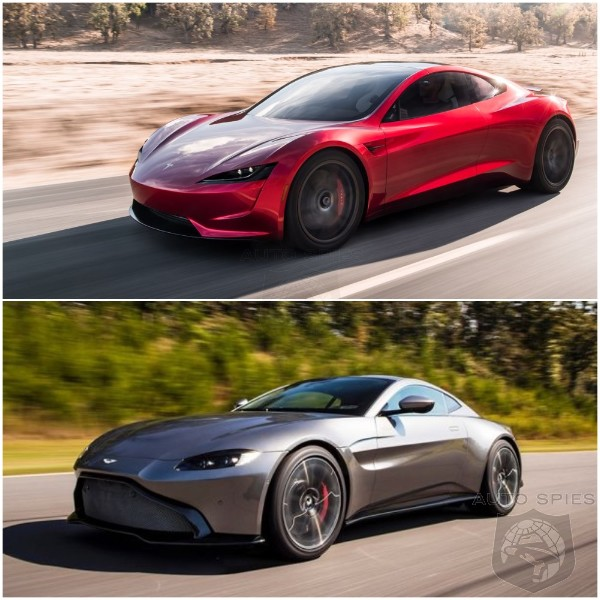 Based On LOOKS Alone, Who Wins The Beauty Contest? Aston or Tesla?