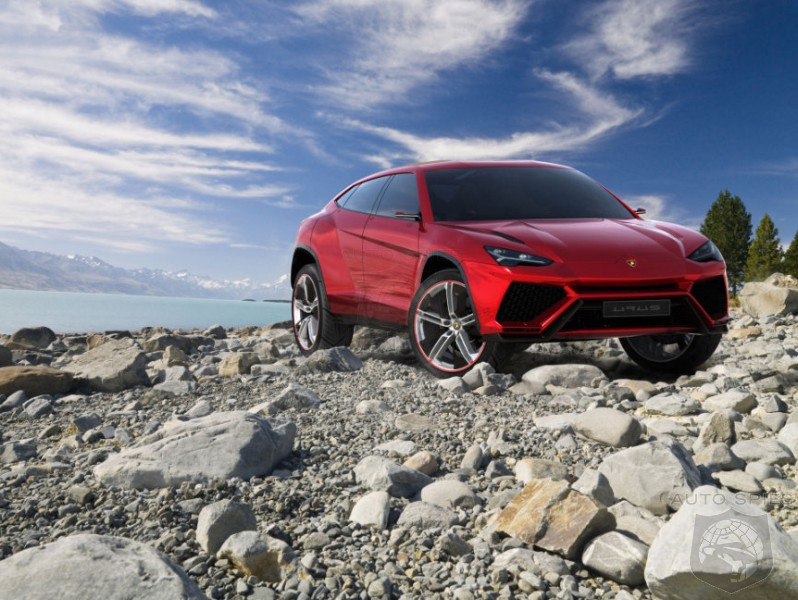 Lamborghini's SUV Emerges And We've Got The FULL Details Right Here