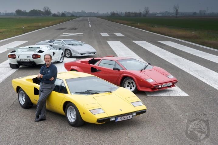 Valentino Balboni Picks His Favorite Lamborghini Countach