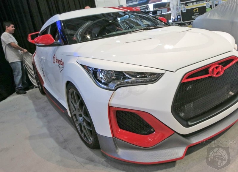 2012 SEMA SHOW: The Hyundai Veloster Gets Spiffed Up For SEMA