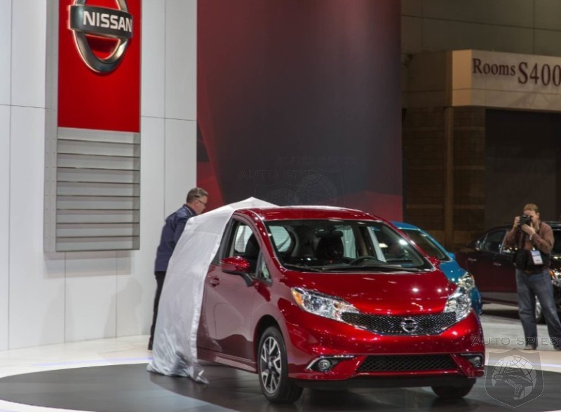 CHICAGO AUTO SHOW: Nissan Rolls Out The Red Carpet For Its All-New Small Car, The Versa Note