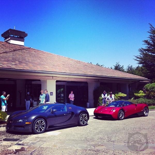 design wars! the bugatti veyron vs. the all-new pagani huayra in a