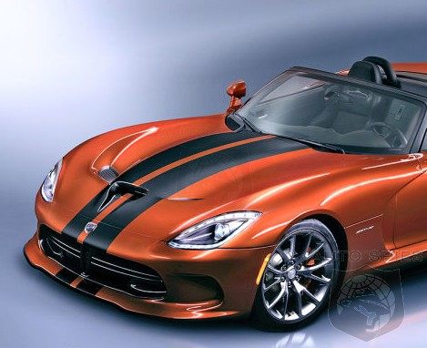 NEW YORK AUTO SHOW PREVIEW: The SRT Viper Drop-Top Gets RENDERING Shows Us Something To Look Forward To