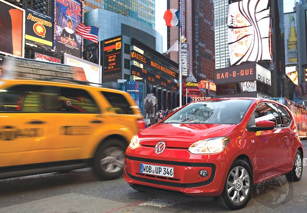 DRIVEN: So, Can A Teeey-Tiny Volkswagen Up! Suvive The Rough-And-Tumble Big Apple? We Find Out