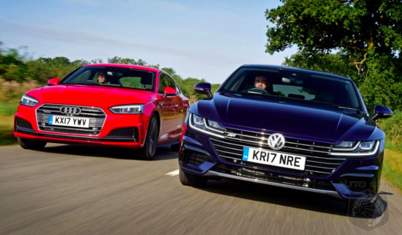 CAR WARS! Family Feud — All-new Audi A5 Sportback Takes On Volkswagen Arteon