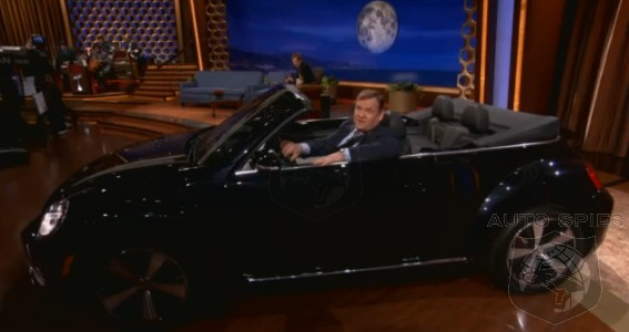 VIDEO: Like The All-New VW Beetle? Like Conan O'Brien? Learn How You Can WIN A New VW VIA Coco