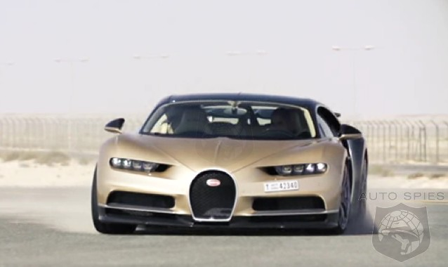 DRIVEN + VIDEO: Top Gear's Chris Harris Shows Us What The 1,500 HP Bugatti Chiron Is REALLY Like