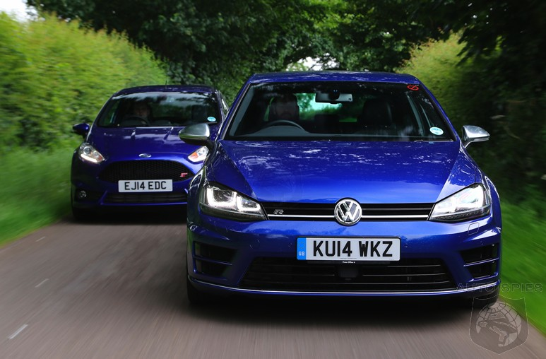 CAR WARS! Can The MORE Expensive Volkswagen Golf R Outdo The Ford Fiesta ST When It Comes To The FUN Factor?