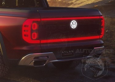Nyias Volkswagen Wants A Piece Of The Pick Up Truck Action Rolls