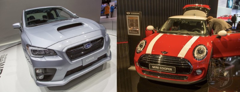 LA AUTO SHOW: WHICH Debut Was MORE Disappointing To YOU? The All-New MINI Cooper OR Subaru WRX?
