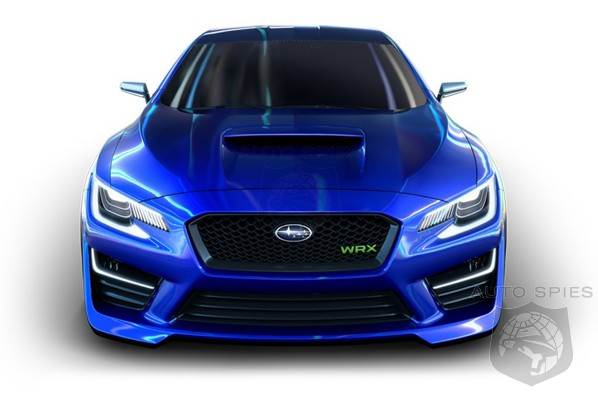 REMEMBER That AWESOME Subaru WRX Concept Shown At The New York Auto Show? Turns Out It May NOT Have Been A WASTE After All