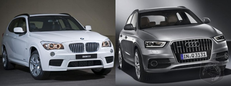 Showdown Compact Luxury Suvs Side By Bmw X1 Vs Audi Q3