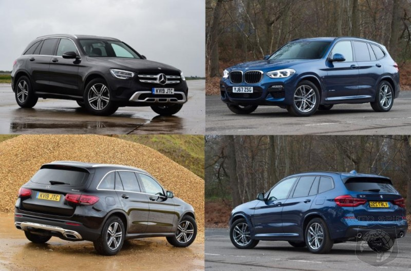 SUV WARS BMW X3 Goes Head to head With The Mercedes Benz GLC