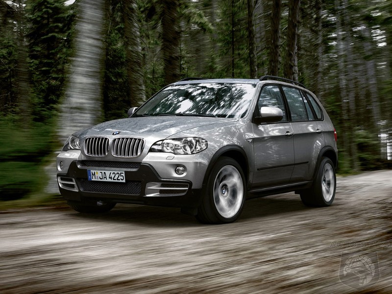 spied bmw x5 refresh caught roaming the streets. Black Bedroom Furniture Sets. Home Design Ideas