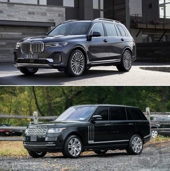 Bmw X7 Interior: SUV WARS! Based On LOOKS ALONE, Who Wins? All-new BMW X7