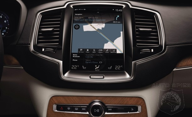 Volvo's Next-Gen, Tesla-Inspired BIG SCREEN-Centric Interior Will Find Its NEXT Home In...