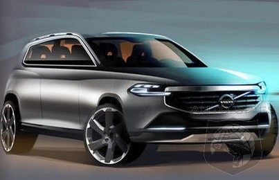 SKETCHED Out: Volvo Shootin' For A New Look With It's Upcoming XC90