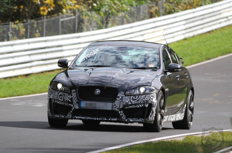 SPIED: Jaguar's XF Continues To Get More Badass With The XFR-S Version