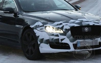 SPIED: NEW Images Of The Leaping Cat's New XJ Sedan Nip/Tuck