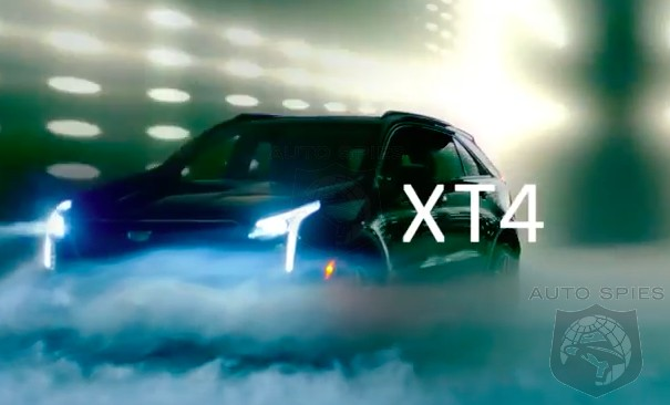 #NYIAS: TEASED! We Get Just A GLIMPSE Of The All-new Cadillac XT4, Set To Debut In The BIG Apple