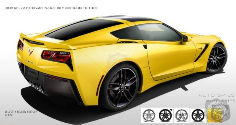 YOU Decide: The 2014 Chevrolet Corvette Color Palette Is OUT — How Would YOU Option It?