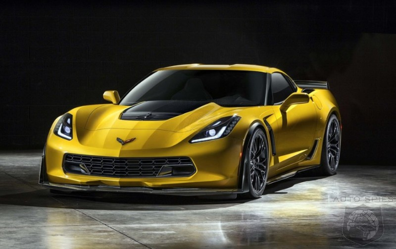DETROIT AUTO SHOW: LEAKED! FIRST Images Of The All-New Chevrolet Corvette Z06 Reveal One BADASS Ride