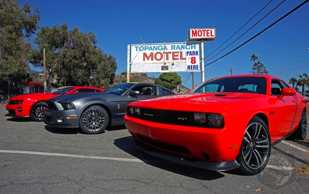 CAR WARS! MUSCLE Car Wars Are STRONGER Than Ever — 2015 Challenger vs. 2014 Camaro vs. 2015 Mustang