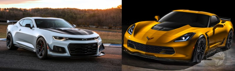 Camaro Vs Corvette >> Car Wars Gm S Finest Go Head To Head Which Would You