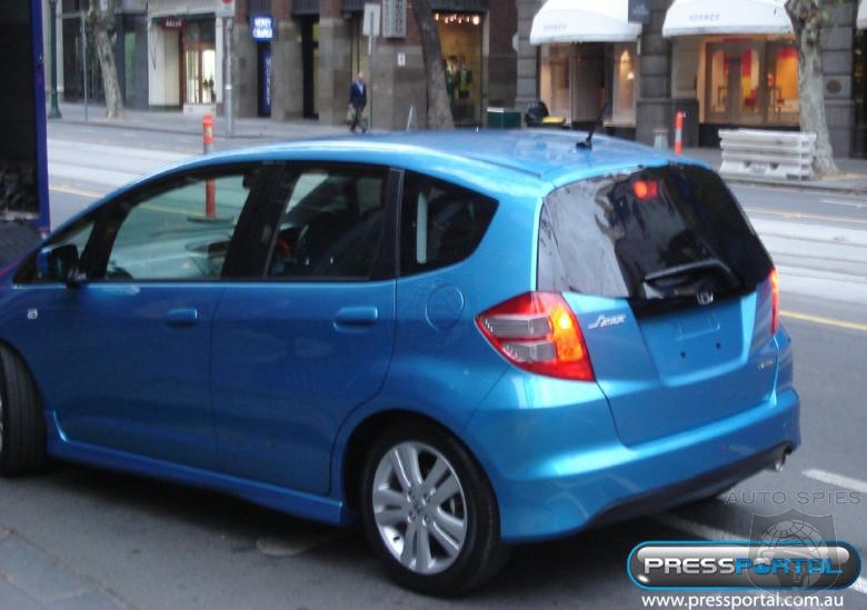 The all new Honda Jazz has been photographed in prestigious Collins Street,