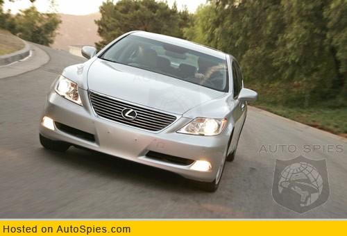 lexus is 500. Edmunds: Lexus LS460