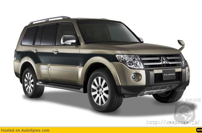 2007 Mitsubishi Pajero / Montero - AutoSpies Auto News
