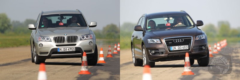Comparison BMW X3 Takes On Audi Q5  AutoSpies Auto News