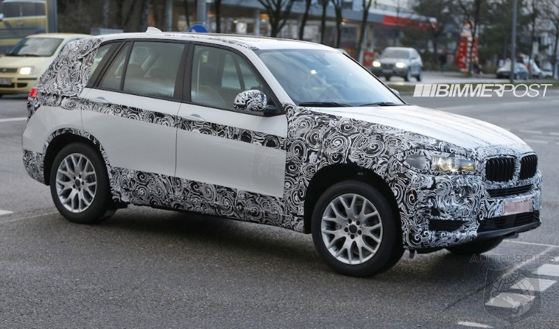 2014 BMW X5 (F15) Drops Major Camouflage to Reveal Much More