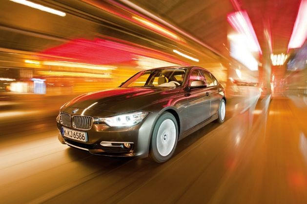 The Soon to be Released in US BMW 320d Takes on the A4 TDI