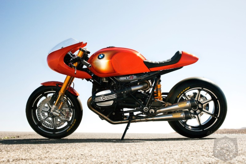 BMW Concept Ninety Motorcycle Pays Tribute to BMW R 90 S