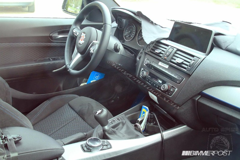 First Clear Look at Interior of BMW 2 Series (F22) - M235i Coupe