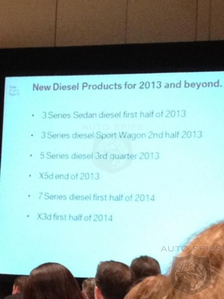 Leaked: BMW Diesel Blitz Coming to N.A. in 2013-2014 for 3, 5, X3, X5, and 7 Series